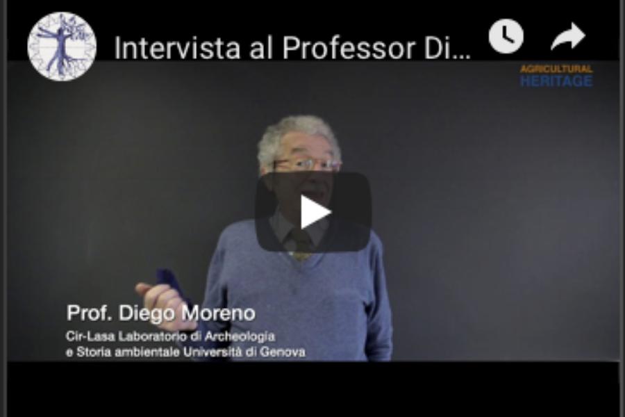 Intervista al Professor Diego Moreno, padre dell'Ecologia storica italiana