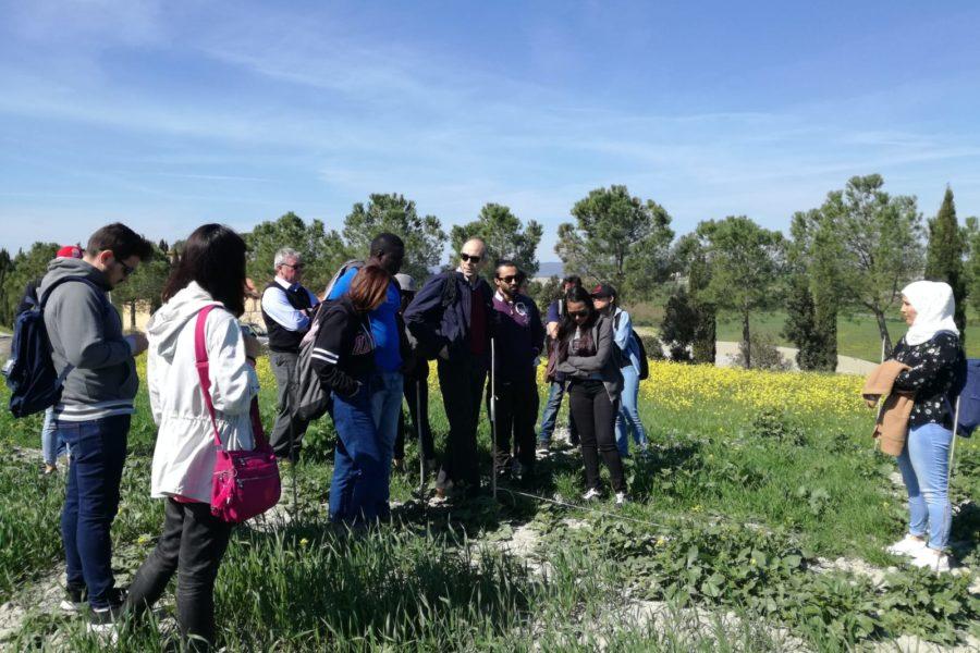 Visita all'azienda agricola biologica Floriddia